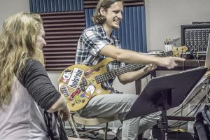 Bass lessons at Broomfield music school